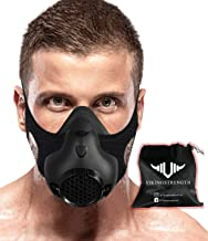 Vikingstrength Training Workout Mask for Running Biking MMA Endurance with Adjustable Resistance, High Altitude Elevation Mask for Air Resistance Training [16 Breathing Levels] …