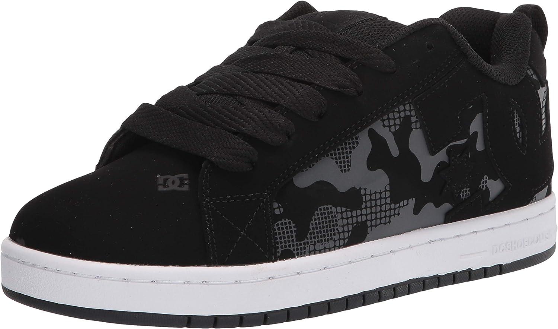 Latest item DC Men's Manufacturer OFFicial shop Court Graffik Casual Skate Shoe