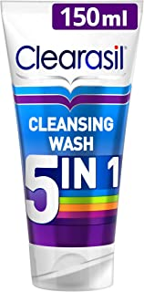 Clearasil Ultra 5 in 1 Face Wash Pimple Cleanse, 150ml