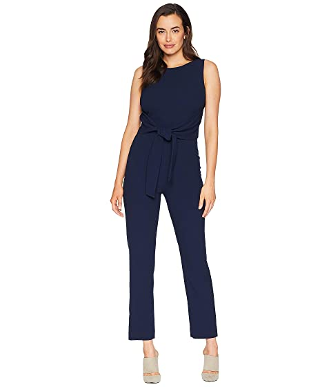 7b60740567e Tahari by ASL Sleeveless Crepe Jumpsuit with Tie Waist at 6pm