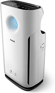 Philips - Purificador de aire (95 m², 393 m³/h, Negro, Blanco, De plástico, 99%, 99,99%)