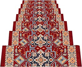 HAIPENG Non Slip Stair Carpet Treads Pads Mats Self Adhesive Staircase Rugs Home, 5 Sizes, 4 Colors, Size Customizable (Co...