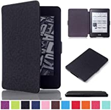 DHZ Case For Kindle Paperwhite 2012-2017 Released Versions(no Fit 2018 Newest Paperwhite 10th Generation) - The Lightest Pu Leather Cover for Amazon Kindle Paperwhite,Black
