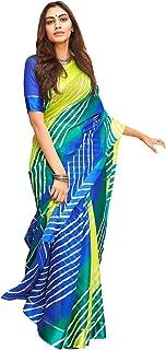 Shangrila Designer Women's Kora Silk Saree with Blouse Piece (SHIBOURI-50196, Blue Green)