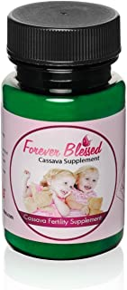 1 Month Supply Organic Cassava Root – Fertility Supplement for Twins –..