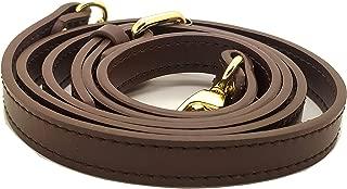 Nelliz Genuine Leather Mohagany Crossbody Strap Replacement Adjustable 0.55 x 41-49