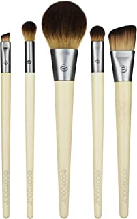 EcoTools Makeup Brush Set for Eyeshadow, Foundation, Blush, and Concealer, Start the Day...