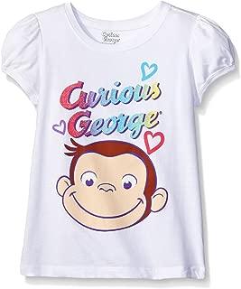 Curious George Girls' Short Sleeve T-Shirt
