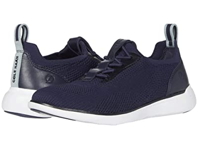 Cole Haan Zerogrand Global Trainer (Marine Blue Knit/Ether/Optic White) Women