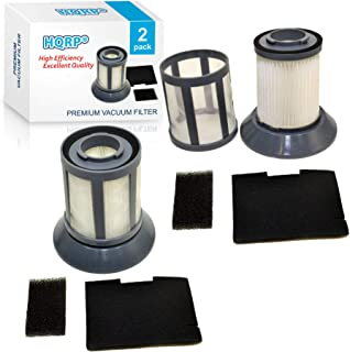 HQRP 2-Pack Dirt Cup Filter Assembly Compatible with Bissell 6489/64892 / 64894 Zing Bagless Canister Vacuum Cleaner, 203-1772 203-1532 Replacement