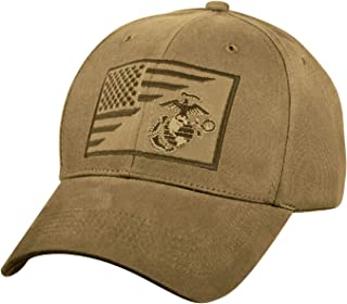 USMC Globe and Anchor/US Flag Low Pro Cap