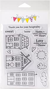 Jane's Doodles Sweet Home Clear Stamps, 4
