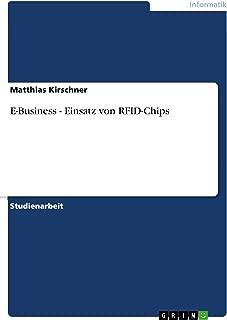 E-Business - Einsatz von RFID-Chips (German Edition)