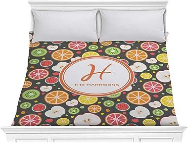 RNK Shops Apples & Oranges Comforter - King (Personalized)