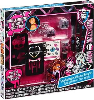 Monster High Ghoulamorous Glimmer Body Art Set