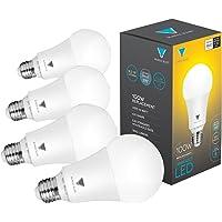 4-Pack TriGlow A21 Dimmable 16-Watt LED Light Bulbs