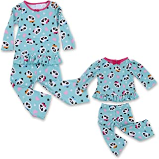 Dream with Me Matching Doll Pajamas for Girls and 18 Inch Dolls