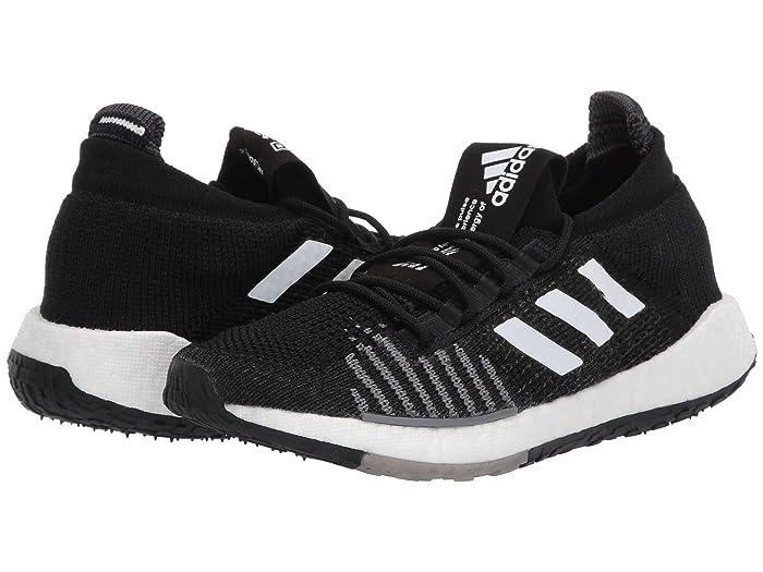 adidas Running  PulseBOOST HD (Black/White/Grey) Womens Running Shoes