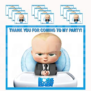 Boss Baby Stickers Party Favors Supplies Decorations Gift Bag Label Stickers ONLY 3.75