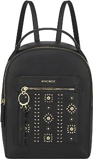 Nine West womens Backpack,BLACK,Large