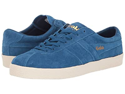 Gola Trainer Suede (Marine Blue/Off-White) Women