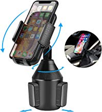 ihens5 Car Phone Mount,Cup Phone Holder for Car, Universal Adjustable Cell Phone Cradle Car Mount for iPhone XR/XS Max/X/8/7 Plus/6s/Samsung Galaxy
