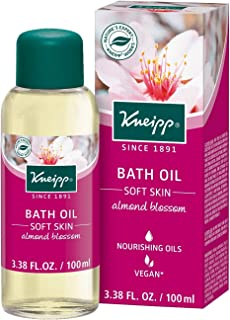 Kneipp Herbal Bath Oil, Soft Skin, Almond Oil, 3.38 fl. Oz