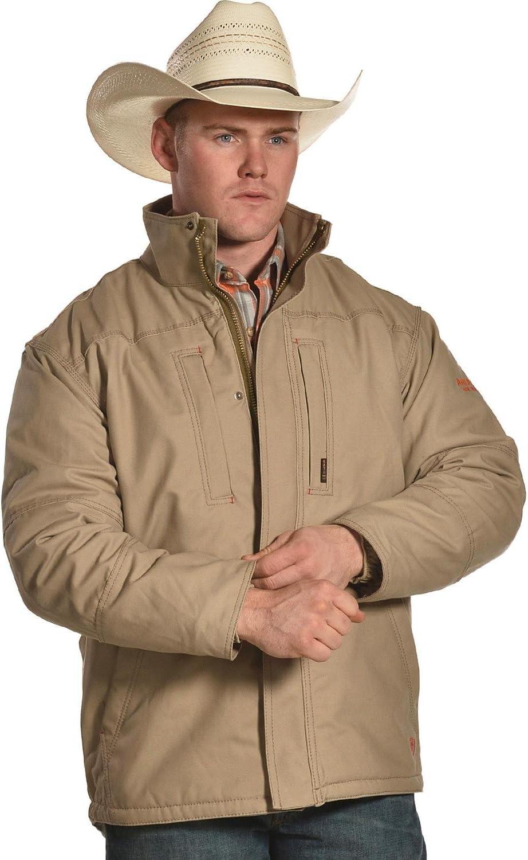 ARIAT Mens FR Workhorse Jacket 3XL Khaki