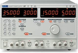 Tti ql355tp SII Dual fuente de alimentación programable, ql355Plus, LXI/USB/RS232/GPIB, 1V-6V/3A