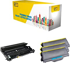 New York Toner New Compatible 4 Pack High Yield Toner & Drum for Brother TN330 DR360 - MFC Multifunction Printers : MFC-7320 | MFC-7340 | MFC-7345DN | MFC-7345N | MFC-7440N | MFC-7840W .- Black