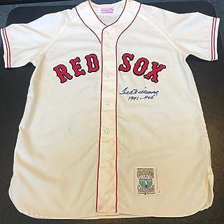 0b20699b0 Ted Williams Signed Jersey - Beautiful 1941 - .406 Average COA - JSA  Certified -