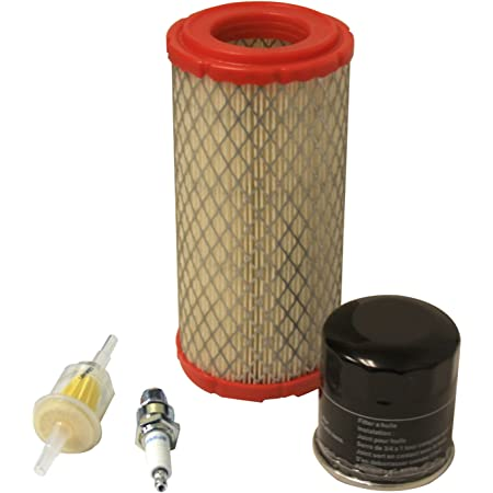 JJDD Replace Air Filter /& Pre Filter Cleaner Oil Filter Tune Up Kit for Kawasaki FH601D FH641D FH680D FH721D FX651V FX691V FX730V 25 HP engines Replace 11013-7020 11013-7019 49065-7010