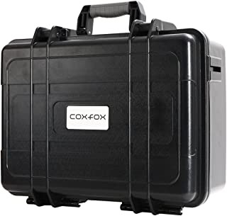 coxfox(コックスフォックス) ショックレストランク 【 容量20L 】 耐衝撃 防水ハードケース ショルダーベルト付き 緩衝ブロックウレタンセット付属 GTC-23