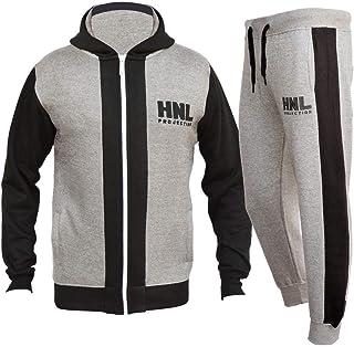 208729813d4 FLIRTY WARDROBE Mens HNL Tracksuit Joggers Hoodie Sweatshirt Pants Sweats  Bottoms Plus Size UK