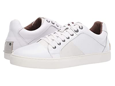 Steve Madden Mister Sneaker (White Leather) Men