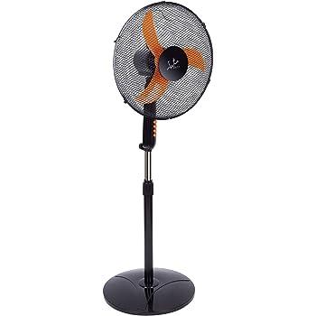 Jata VP3032 Ventilador de pie, 50 W, 200 Decibelios, Plástico ...