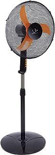 Jata VP3032 Ventilador de pie, 50 W, 200 Decibelios, Plástico, negro