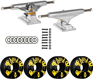 Independent Skateboard Package 149 Trucks Bones 54mm 100's #10 V4 Wheels ABEC 9