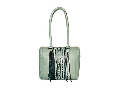 STS Ranchwear Marlowe Satchel (Seafoam) Handbags