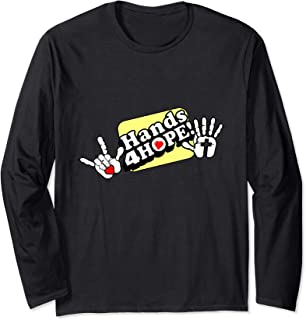 Hands4Hope Shirts and more Long Sleeve T-Shirt