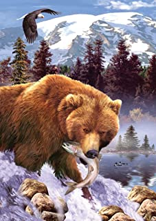 SunsOut Grizzly Bear 1000 pc Jigsaw Puzzle