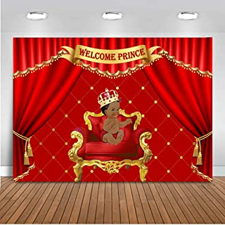 Best baby shower decorations red and gold Reviews