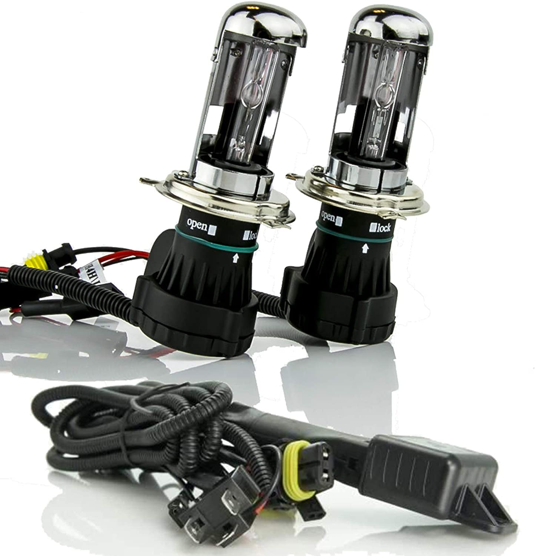 XENTEC H4 5000K Telescopic Bixenon HID Xenon Bulb cab Los Angeles Mall x specialty shop 1 + pair