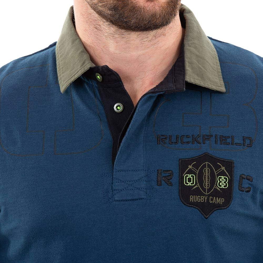 Bleu Polo Bleu Canard Homme Ruckfield