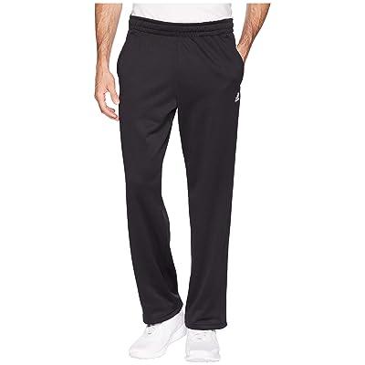 adidas Team Issue Fleece Open Hem Pants (Black) Men