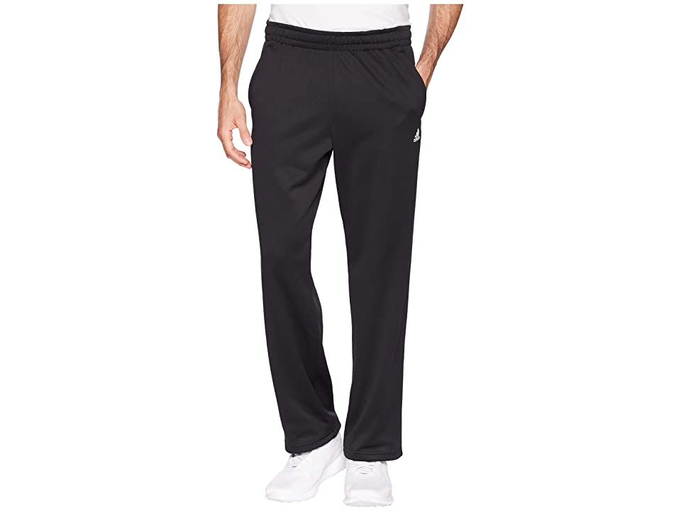 adidas Team Issue Fleece Open Hem Pants (Black) Men
