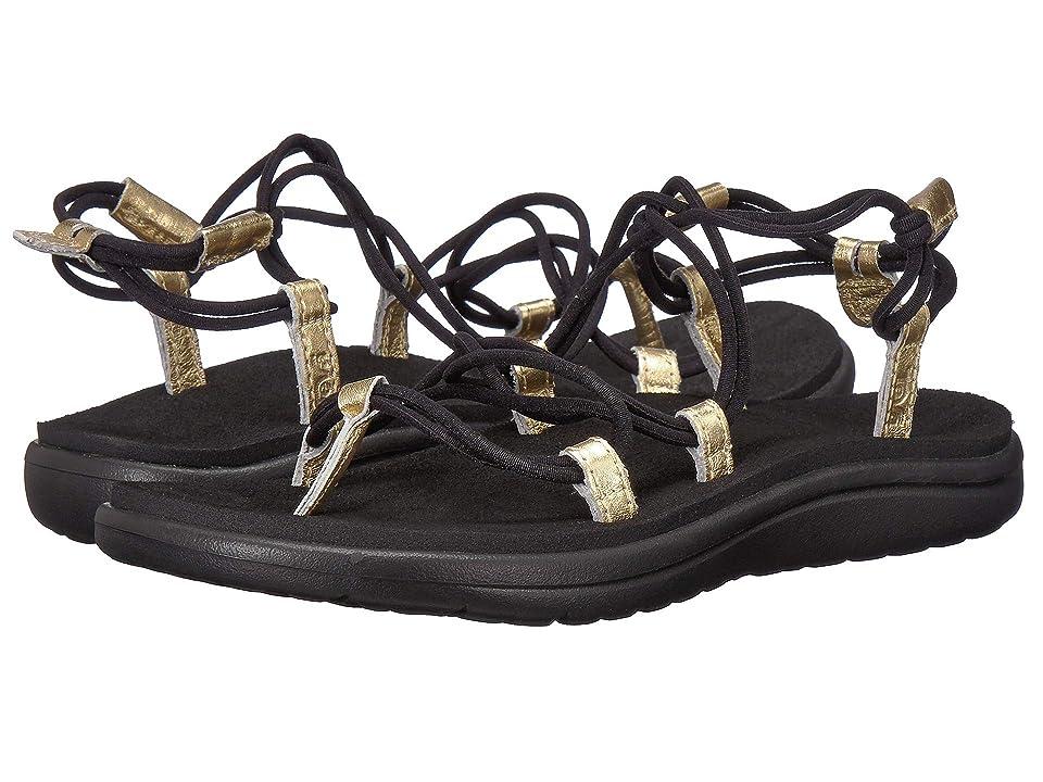 Teva Voya Infinity Metallic (Black/Gold) Women's Shoes