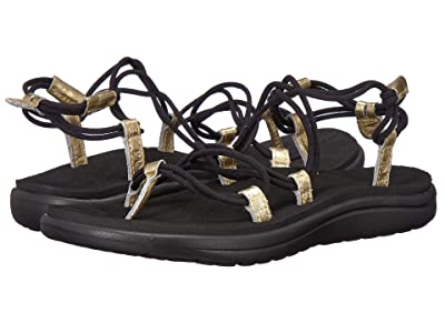 Teva Voya Infinity Metallic (Black/Gold) Women
