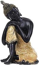 1pcs 5 Styles Resin Thailand Buddha Statue, India Religious Buddhism Sculpture, Hindu Black Buddha Fengshui Statue, Figuri...