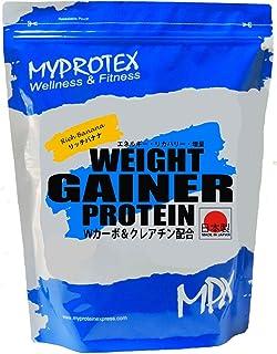 MPX ウエイトゲイナープロテイン・マイプロテック プロテイン・ウエイトアップ・マイプロ 増量プロテイン・Wカーボ&クレアチン配合 (リッチバナナ, 3kg)
